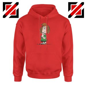 Peppermint Patty Red Hoodie