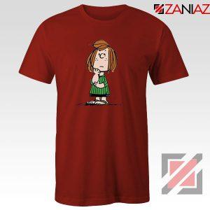 Peppermint Patty Red Tshirt