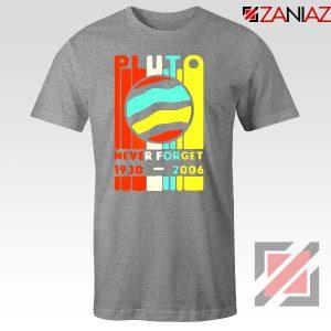 Pluto Never Forget Sport Grey Tshirt