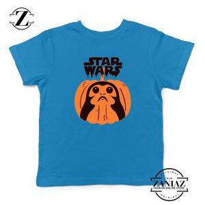 Porgs Star Wars Blue Kids Tshirt