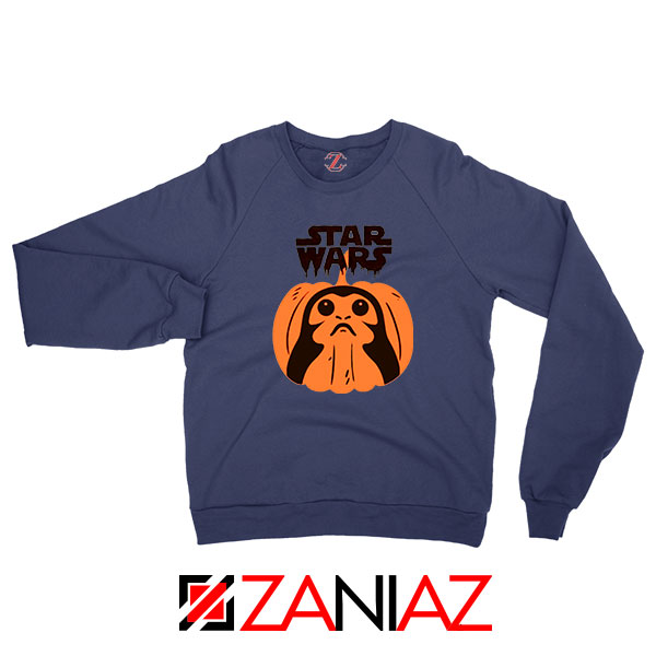 Porgs Star Wars Navy Blue Sweatshirt
