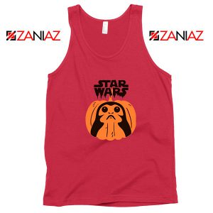Porgs Star Wars Red Tank Top