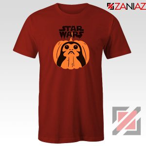 Porgs Star Wars Red Tshirt