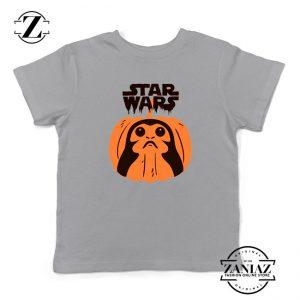 Porgs Star Wars Sport Grey Kids Tshirt