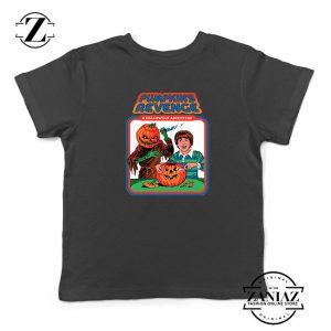 Pumpkins Revenge Kids Black Tshirt