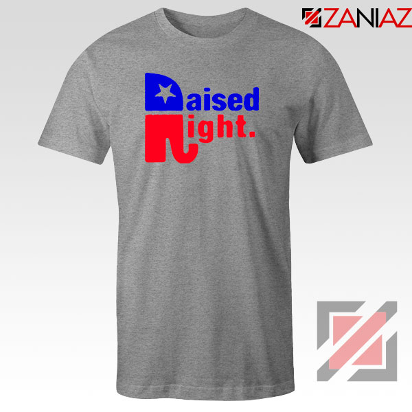 Raised Right Sport Grey Tshirt