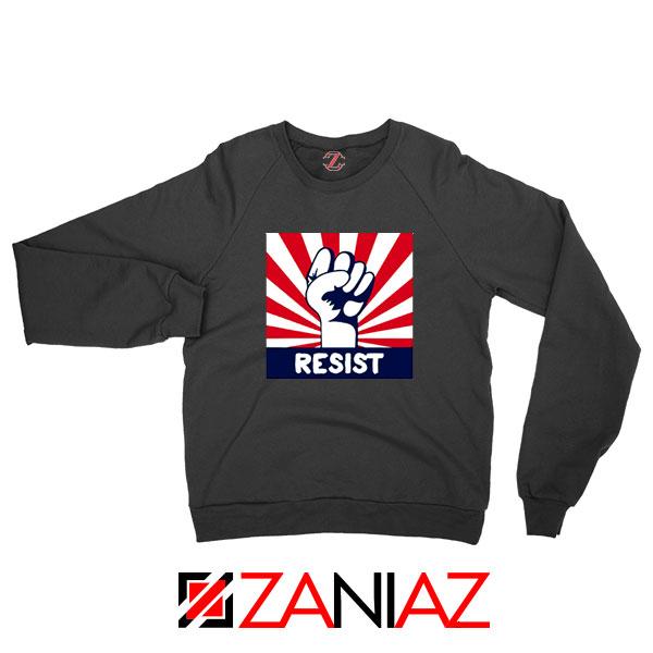 Resist Fist Black Sweatshirt