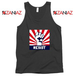 Resist Fist Black Tank Top