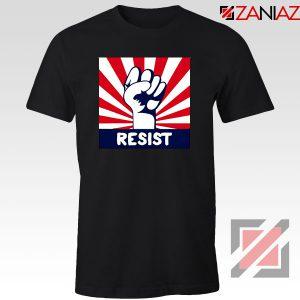 Resist Fist Black Tshirt