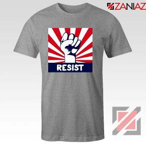 Resist Fist Sport Grey Tshirt