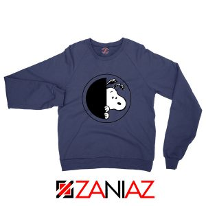 Sneaky Snoopy Navy Blue Sweatshirt
