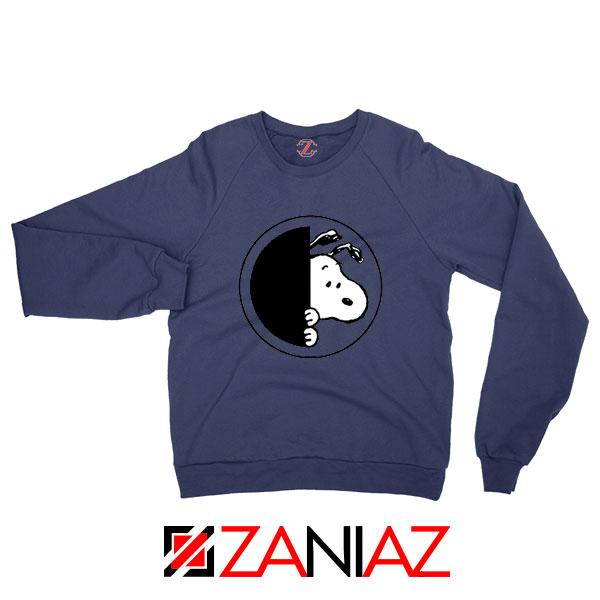 Sneaky Snoopy Navy Blue Sweatshirt