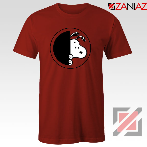 Sneaky Snoopy Red Tshirt