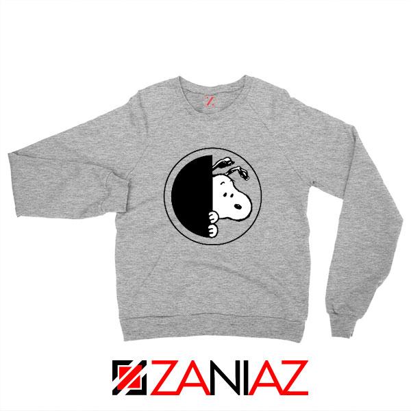 Sneaky Snoopy Sport Grey Sweatshirt