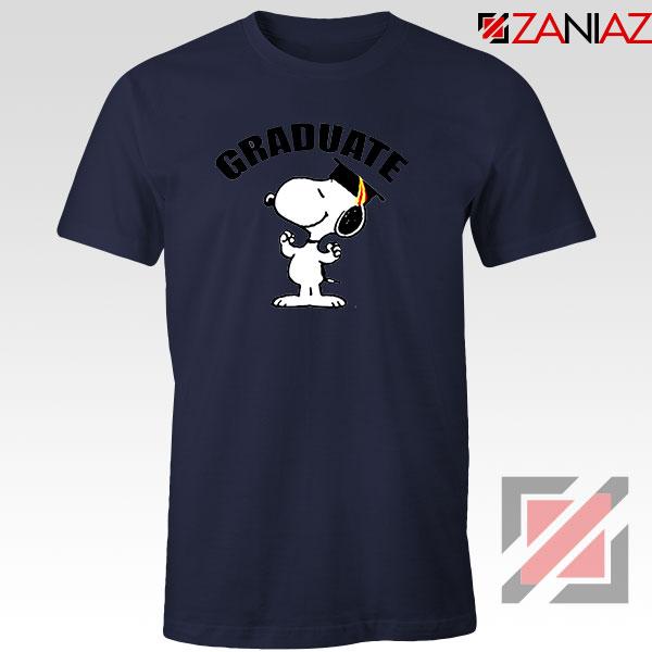 Snoopy Graduate Navy Blue Tshirt