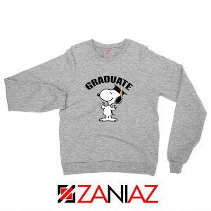 Snoopy Graduate Sport Grey Sweatshirt