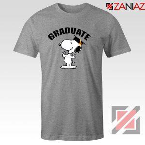 Snoopy Graduate Sport Grey Tshirt