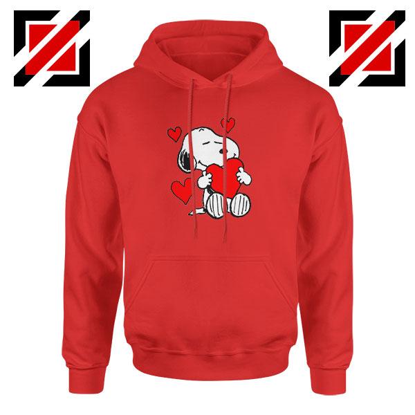 Snoopy Valentine Red Hoodie