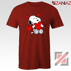 Snoopy Valentine Red Tshirt
