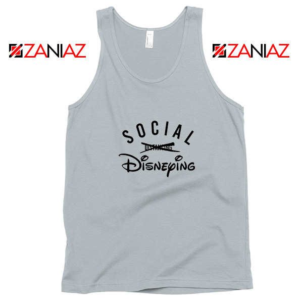 Social Disneying Sport Grey Tank Top