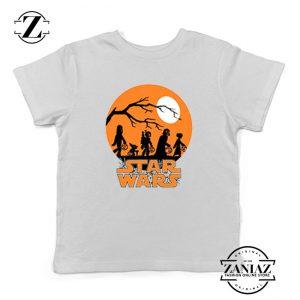 Star Wars Trick or Treating Kids Tshirt