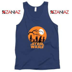 Star Wars Trick or Treating Navy Blue Tank Top
