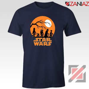 Star Wars Trick or Treating Navy Blue Tshirt