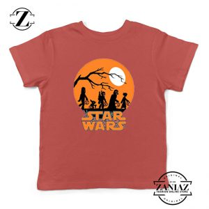Star Wars Trick or Treating Red Kids Tshirt