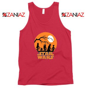 Star Wars Trick or Treating Red Tank Top