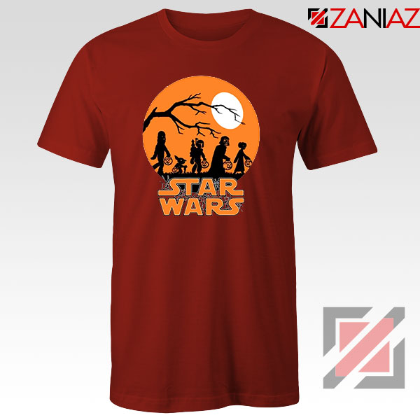 Star Wars Trick or Treating Red Tshirt