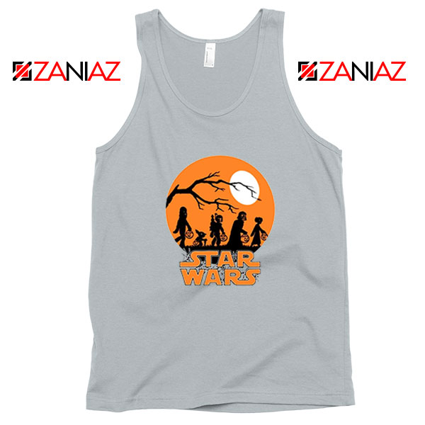 Star Wars Trick or Treating Sport Grey Tank Top