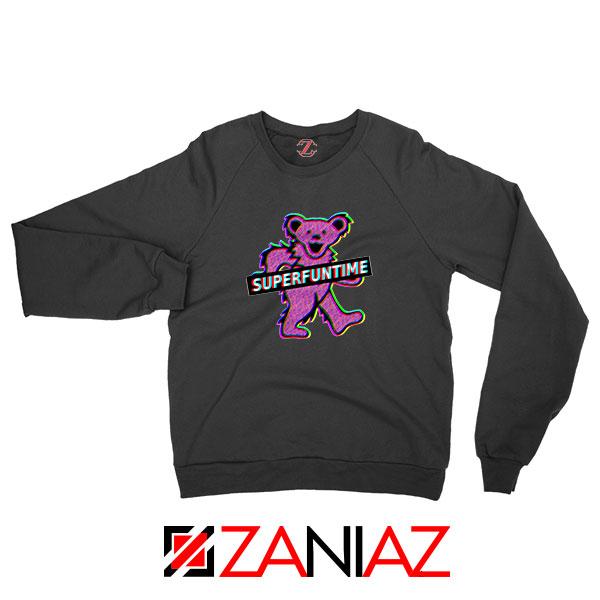 Teddy Bear LSD MDMA Black Sweatshirt