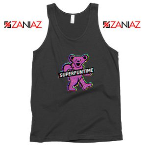 Teddy Bear LSD MDMA Black Tank Top