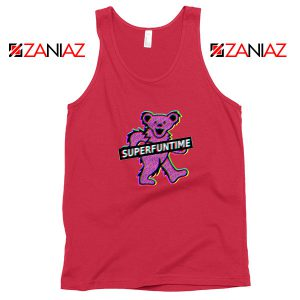 Teddy Bear LSD MDMA Red Tank Top