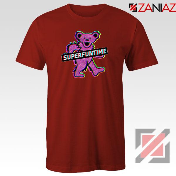 Teddy Bear LSD MDMA Red Tshirt