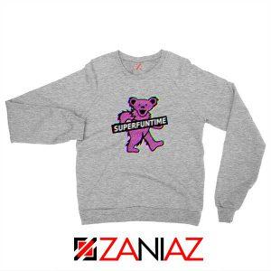Teddy Bear LSD MDMA Sport Grey Sweatshirt