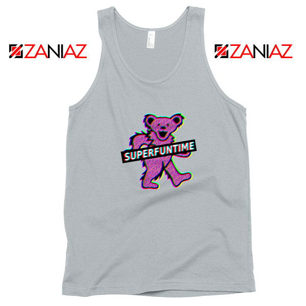 Teddy Bear LSD MDMA Sport Grey Tank Top