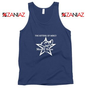 The Kittens Of Mercy Navy Blue Tank Top