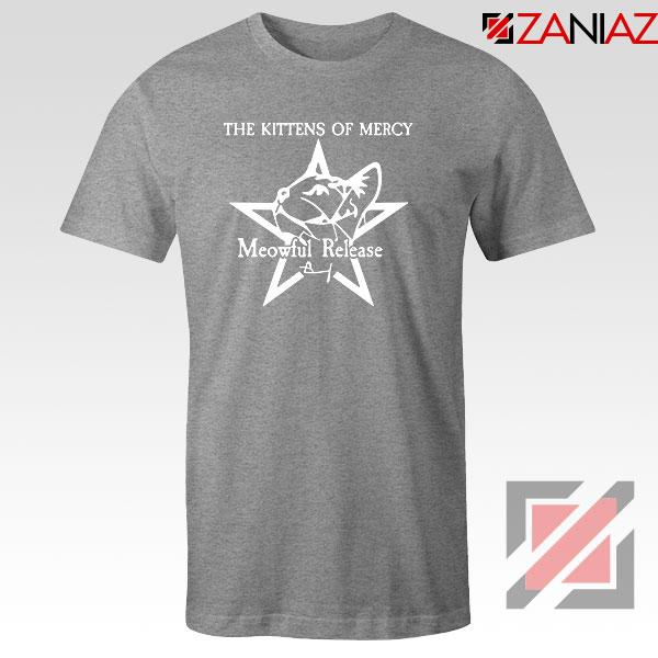 The Kittens Of Mercy Sport Grey Tshirt