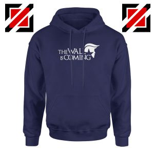 The Wall Is Coming Navy Blue Hoodie