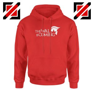 The Wall Is Coming Red Hoodie