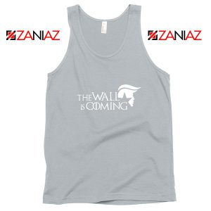 The Wall Is Coming Sport Grey Tank Top