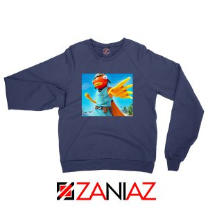 Tiko Fortnite Merch Navy Blue Sweatshirt