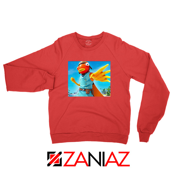 Tiko Fortnite Merch Red Sweatshirt