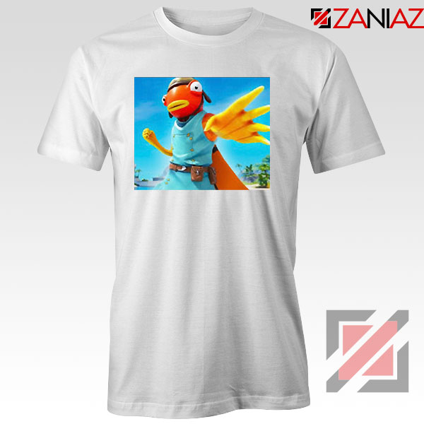 Tiko Fortnite Merch White Tshirt