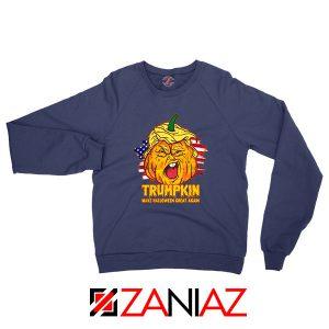 Trumpkin Navy Blue Sweatshirt