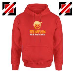 Trumpkin Scary Red Hoodie