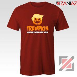 Trumpkin Scary Red Tshirt