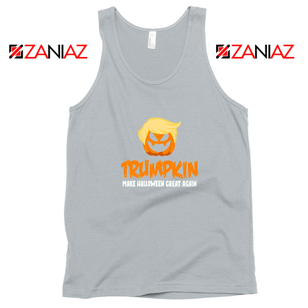 Trumpkin Scary Sport Grey Tank Top