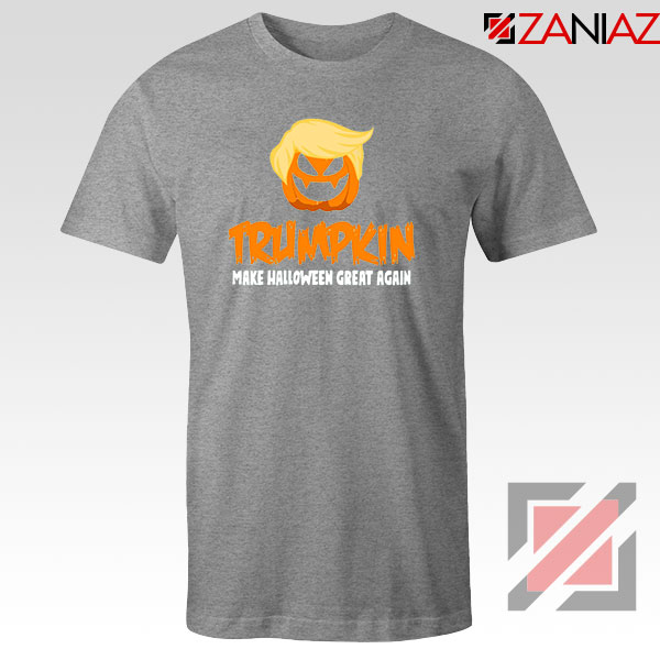 Trumpkin Scary Sport Grey Tshirt